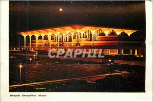Modern Postcard Memphis Metropolitan Airport Riverside Drive along the Missis...