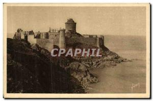Old Postcard The Old Fort De Latte Chateau Roche Guyon