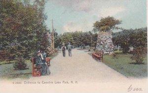 New Hampshire Lake Park Entrance To Canoble Lake Park