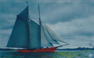 Photographer A. G. STEGLITZ , 1906 ; Sailing Vessel #2
