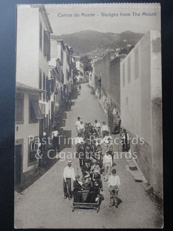 Old PC - Portugal: Madeira - Carros do Monte - Sledges from