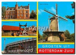 Modern Postcards Groeten uit Rotterdam Zuid