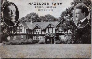 Hazelden Farm Brook IN George Ade Republican Rally 1908 Tudor mansion