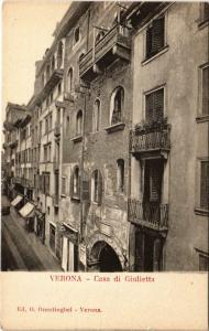 CPA Verona Casa di Giulietta ITALY (802609)
