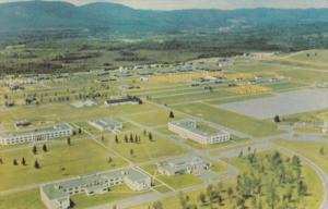 Aerial View of Camp Val Carter, QUEBEC, Canada, 40-60s