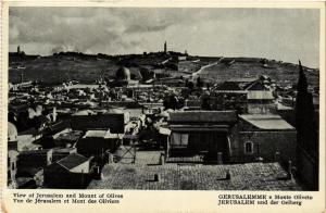 CPA Jerusalem View of Jerusalem and Mount of Olives ISRAEL JERUSALEM (752056)