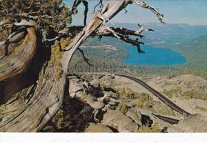 California Donner Lake From Donner Summit