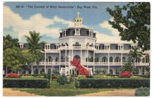 Key West, Fla, The Convent of Mary Immaculate