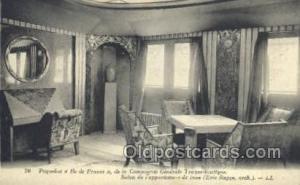 Ile De France French Line, Ship Postcard Postcards  Ile De France