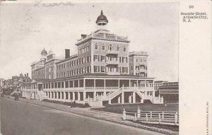 New Jersey Atlantic City Seaside Hotel 1908