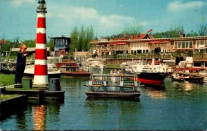 Netherlands Den Haag Miniature City Madurodam The Harbour General View