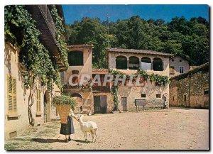 Postcard Modern II pittoresco Ticino Malcantone Sessa