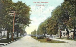 East Park Boulevard Waterloo, Iowa IA 1908