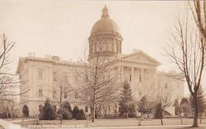 Oregon State Capitol Salem Oregon Real Photo