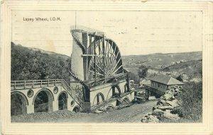 laxey wheel isle of man uk 1913