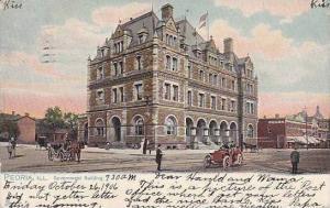 Illinois Peoria Government Buildings 1906 Tucks
