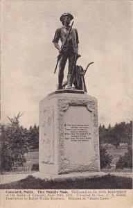 The Minute Man Concord Massachusetts