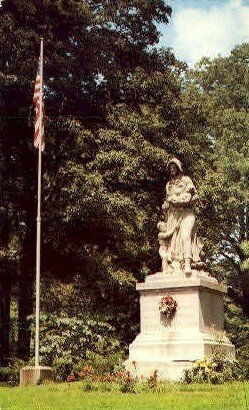 Madonna of the Trail - Richmond, Indiana IN