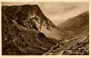 UK - England, Cumbria. Honister Pass and Crag