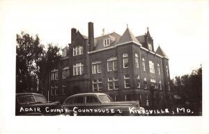 Kirksville Missouri Court House Real Photo Antique Postcard K28634