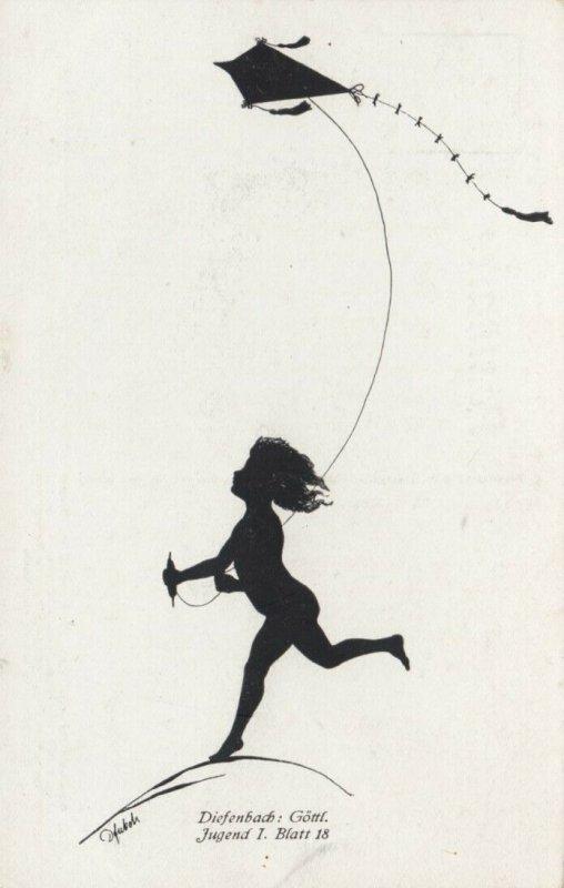 DIEFENBACH : Fantasy Silhouette , 00-10s ; Jugend I. Blatt 18