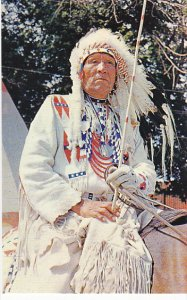 Canada Indian Chief Blackfoot Tribe