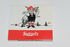 Snitzel's Bavarian Restaurant Freeport Illinois 30 Strike Matchbook