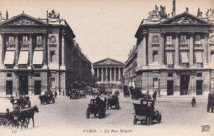 PARIS, France, 1900-1910's; La Rue Royale