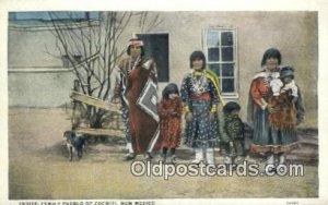 Indian Family Pueblo of Cochitit Indian Unused
