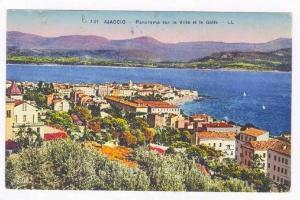 Environs d´Ajaccio , France, 00-10s : Panorama sur la Ville et le Golfe