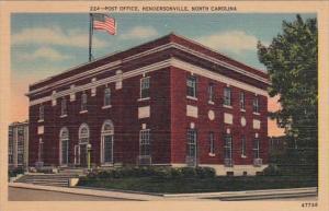 Post Office Hendersonville North Carolina