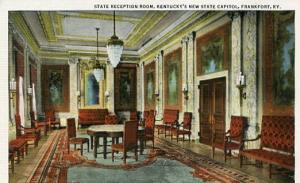 KY - Frankfort, State Capitol, Reception Room