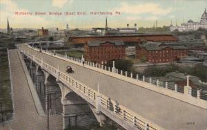HARRISBURG, Pennyslyvania, 1900-1910's; Mulberry Street Bridge, East End