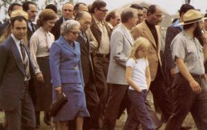 President Jimmy Carter, Wife & Daughter; Israeli Leader Menachem Begin & Pres...