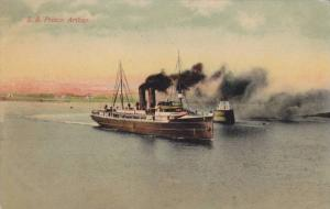 Ocean Liner S.S. Prince Arthur , PU-1909