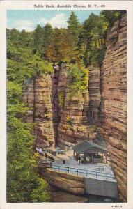 New York Ausable Chasm Table Rock Artvue 1947