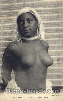 Arab Nude Unused writing on back