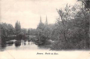 Belgium Anvers - Partie du Parc, Park Parque CPA