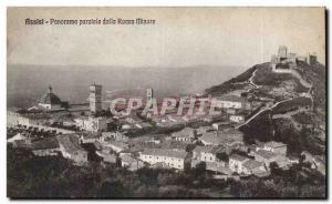 Italia - Italy - Italy - Assisi - Panorama - Old Postcard