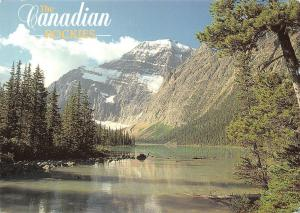 Canada Jasper National Park Mt Edith Cavell
