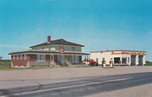 Restaurant Chez Paul, Garage & ESSO Service Station , ST-BERNARD , Quebec , C...