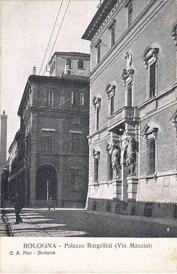 Italy Bologna Palazzo Bargellini Via Mazzini