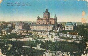 Postcard Ukraine Lvov aerial view