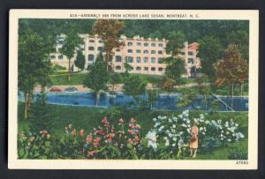 Montreat,North Carolina/NC Postcard, Assembly Inn/Lake Susan