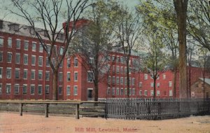 LEWISTON , Maine , 00-10s ; Hill Mill