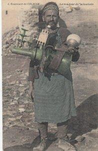 CILICIE , Turkey/Turquie, 1900-10s ; Levendeur de'scherbete