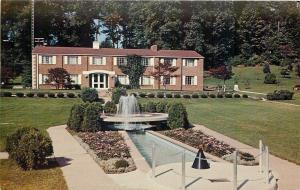 Canton OH~JFK John F Kennedy Memorial Fountain~Timken Estate Garden Center 1966