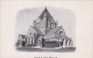 Christ M E Church Pittsburg Pennsylvania