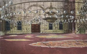 CAIRO , , EGYPT , 00-10s : Interior of the Mosque of Mohamed Ali