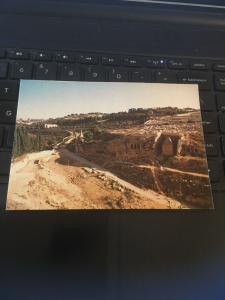 Vintage Postcard: Jerusalem, Kidron Valley